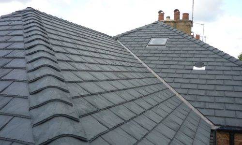 new slate roof Halloughton