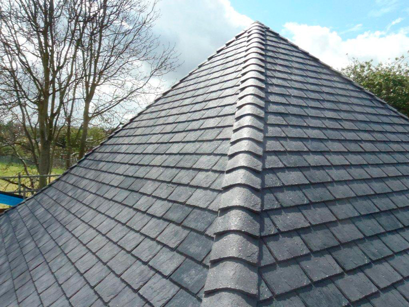 roof repair in Halloughton